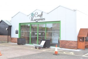 Craft Nurseries new entrance
